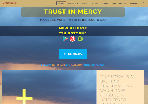 Christian Music Site